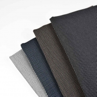 Outdoorstoff Dralon® Teflon diagonale Linien,rauchblau schwarz