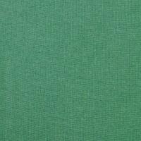 Bündchenstoff Meterware Glattstrick uni, grün