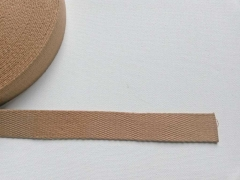 Gurtband Baumwolle 3 cm breit, camel 44