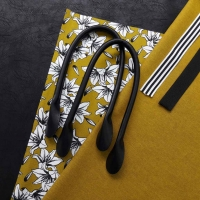 Taschenhenkel 60 cm Kunstleder, schwarz #580