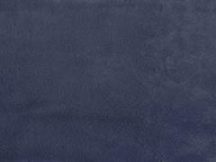 superweiches Pelzimitat Plüsch, blaugrau