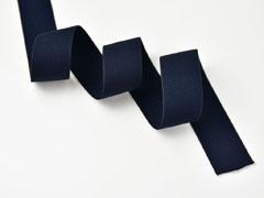 Gummiband Elastic 3 cm breit uni, dunkelblau
