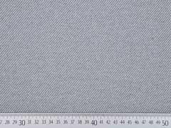 Dekostoff diagonale Streifen Doubleface, grau