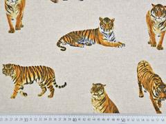 Leinenlook Tiger