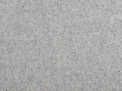 RESTSTÜCK 46 cm Wollstoff gewalkt meliert, hellgrau