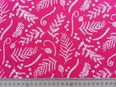 BW Ranken & Blätter, pink