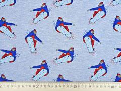Sweat Snowboarder Stenzo, hellblau melange