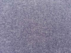 RESTSTÜCK 62 cm weicher Flanell, jeansblau melange