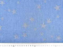 Leichter Jeans Glitzersterne,hellblau