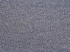 RESTSTÜCK 82 cm French Terry Doubleface Glitzer, dunkelblau