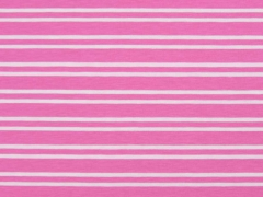 Jersey Doppel-Streifen, rosa