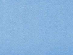 Minky Fleece Stoff uni, hellblau