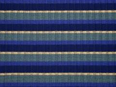 weicher Strick Streifen, mint blau