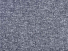 RESTSTÜCK 35 cm Leinen Viskose, dunkelblau meliert