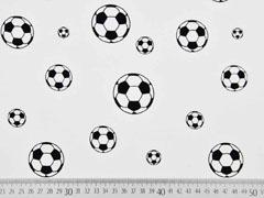 Jersey Fußball, schwarz weiss