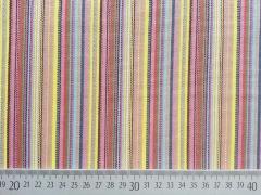 RESTSTÜCK 69 cm Dickerer Stoff Mexiko Streifen, gelb beige rosa