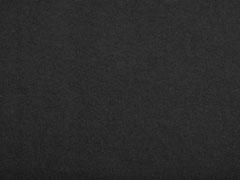 Baumwollfleece uni, schwarz