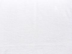 Bündchenstoff Meterware Glattstrick uni,  weiss