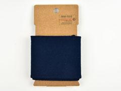 Fertigbündchen uni, dunkelblau