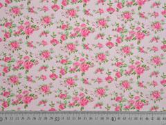 Jersey kleine Rosen mit Duft, rosa