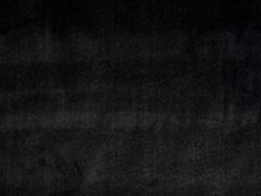 Dekosamt Velour Stoff unelastisch uni, schwarz
