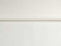 RESTSTÜCK 117 cm Leinen Viskose uni, cremeweiß