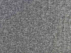 Leinen Viskose uni, schwarz