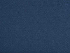 Jersey uni, dunkles jeansblau