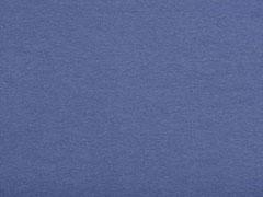 glattes Bündchen, jeansblau
