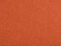 Dekostoff Leinenlook uni, terracotta meliert