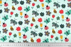 Jersey Bienen Marienkäfer Schmetterlinge, mint
