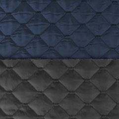 Steppstoff Jackenstoff wattierter Stepper uni, dunkelblau