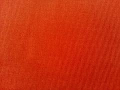 RESTSTÜCK 24 cm Feincord Stoff Babycord uni, terracotta