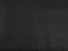 Baumwolle uni, schwarz