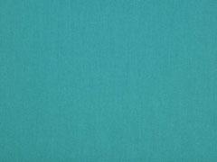 RESTSTÜCK 18 cm Baumwollstoff uni, petrol