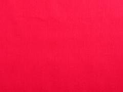 Baumwollstoff uni, rot