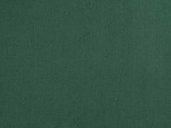 Baumwollstoff uni, dunkelgrün