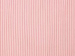 Rippenbündchen Rippenstrick, hellrosa