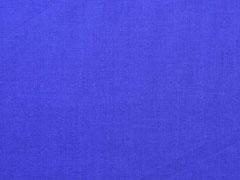 Baumwollstoff uni, königsblau
