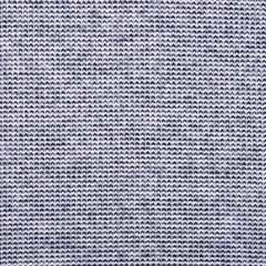 RESTSTÜCK 124 cm Strickstoff Jacquard Recycelte Baumwolle, dunkelblau