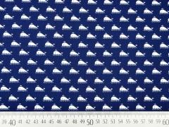 BW Marine by Poppy - kleine Wale, dunkelblau