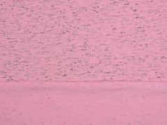 Sweatstoff angeraut meliert,  grau rosa