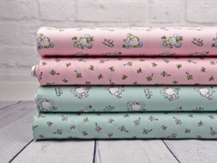 Baumwolle kleine Schmetterling, rosa