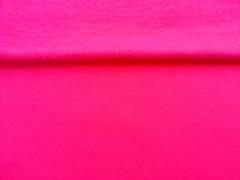 RESTSTÜCK 38 cm Breite nur 143 wegen Fleck Sweatstoff angeraut uni, hot pink (fuchsia)
