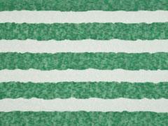 leichter Strickstoff Blockstreifen, ecrue grün