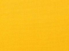 Canvas Stoff uni, gelb