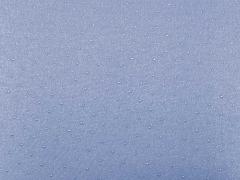 RESTSTÜCK 20 cm Viskose Jersey Dew Drops-stahlblau