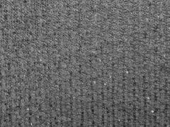 RESTSTÜCK 93 cm leichter Strick mit mini Pailletten grau