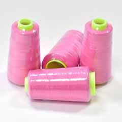 Overlockgarn 4 Rollen, pink