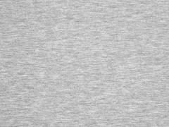 RESTSTÜCK 52 cm Jersey hellgrau melange